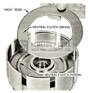 1959 Buick Triple Turbine Transmission - Install Neutral Clutch Spring