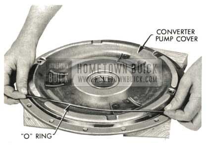 1959 Buick Triple Turbine Transmission - Install O-Ring on Converter Pump