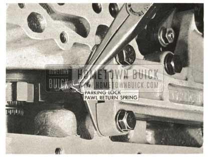 1959 Buick Triple Turbine Transmission - Install Parking Lock Pawl
