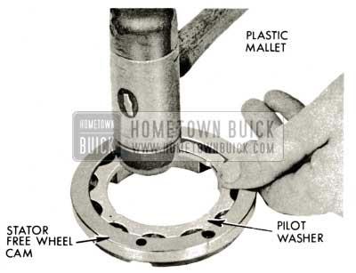 1959 Buick Triple Turbine Transmission - Install Pilot Washer