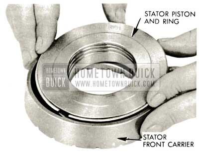 1959 Buick Triple Turbine Transmission - Install Piston