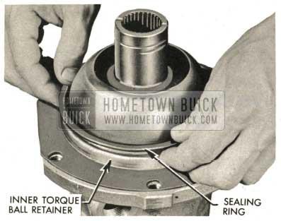 1959 Buick Triple Turbine Transmission - Install Sealing Ring
