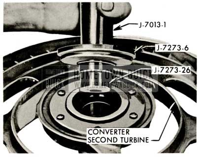 1959 Buick Triple Turbine Transmission - Install Second Turbine Shaft Front Bushing