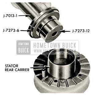1959 Buick Triple Turbine Transmission - Install Stator Rear Carrier Bushing