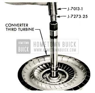 1959 Buick Triple Turbine Transmission - Install Third Turbine Rear Bushing