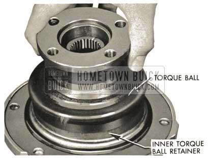 1959 Buick Triple Turbine Transmission - Install Torque Ball