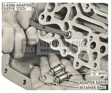 1959 Buick Triple Turbine Transmission - Installation of Adapter Sleeves