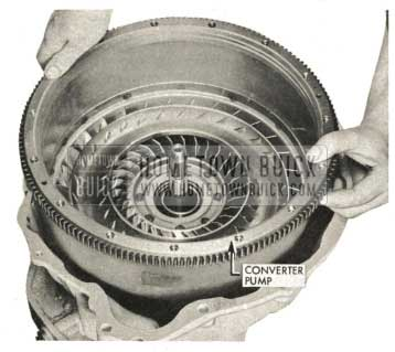 1959 Buick Triple Turbine Transmission - Installation of Converter