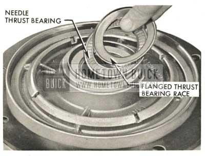 1959 Buick Triple Turbine Transmission - Installation of Oil Pump