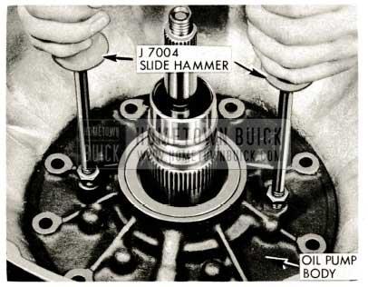 1959 Buick Triple Turbine Transmission - J-7004 Slide Hammer
