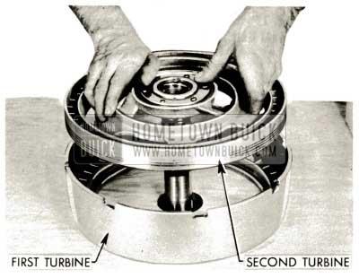 1959 Buick Triple Turbine Transmission - Lubricare Second Turbine