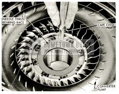 1959 Buick Triple Turbine Transmission - Needle Thrust Bearing Race