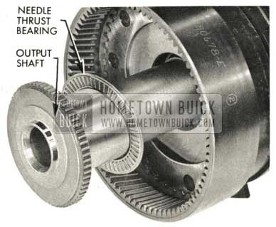 1959 Buick Triple Turbine Transmission - Needle Thrust Bearing Removal