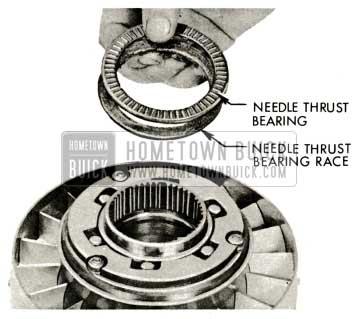 1959 Buick Triple Turbine Transmission - Needle Thrust Bearing