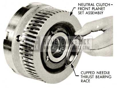 1959 Buick Triple Turbine Transmission - Neutral Clutch Front Planet Set Assembly