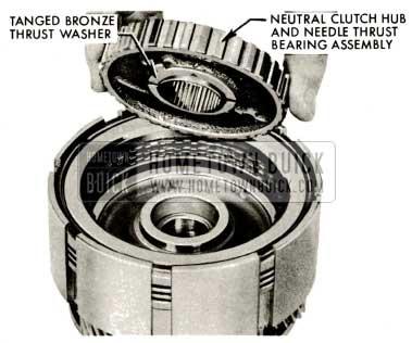 1959 Buick Triple Turbine Transmission - Neutral Clutch Hub