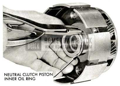 1959 Buick Triple Turbine Transmission - neutral Clutch Piston Inner Oil Ring