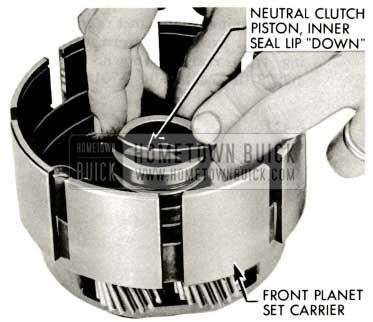 1959 Buick Triple Turbine Transmission - Neutral Clutch Piston