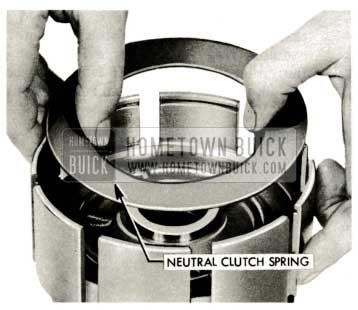 1959 Buick Triple Turbine Transmission - Neutral Clutch Spring