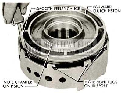 1959 Buick Triple Turbine Transmission - Note Chamber on Piston