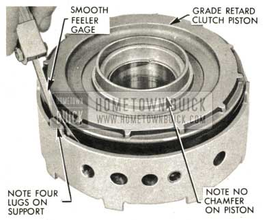 1959 Buick Triple Turbine Transmission - Note Four Lugs on Support