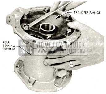 1959 Buick Triple Turbine Transmission - Oil Transfer Flange