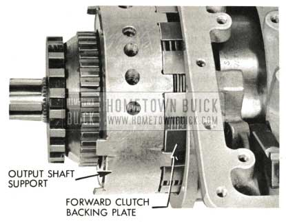 1959 Buick Triple Turbine Transmission - Outer Shaft Support