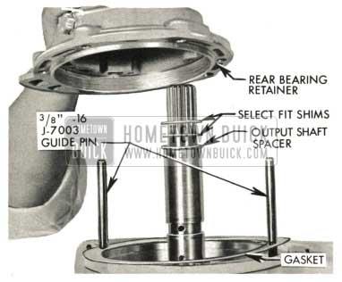 1959 Buick Triple Turbine Transmission - Output Shaft End Play Adjustment