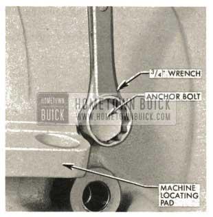 1959 Buick Triple Turbine Transmission - Output Shaft Support Anchor Bolt