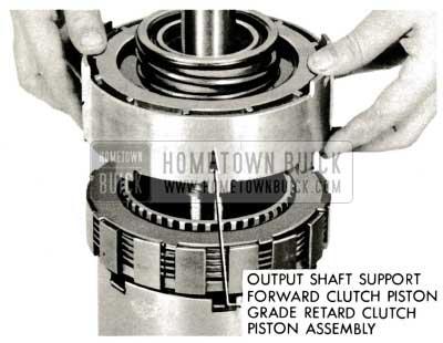 1959 Buick Triple Turbine Transmission - Output Shaft Support