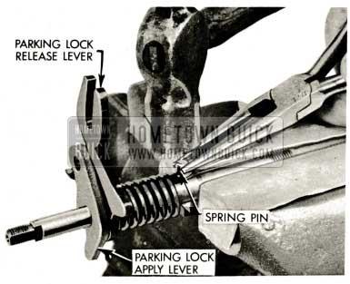 1959 Buick Triple Turbine Transmission - Parking Lock Release Lever