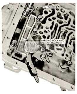 1959 Buick Triple Turbine Transmission - Parking Lock