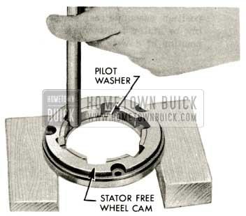 1959 Buick Triple Turbine Transmission - Pilot Washer