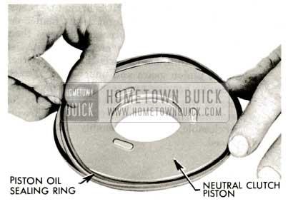 1959 Buick Triple Turbine Transmission - Piston Oil Sealing Ring