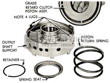1959 Buick Triple Turbine Transmission - Piston Return Spring