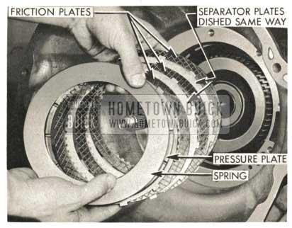 1959 Buick Triple Turbine Transmission - Pressure Plate