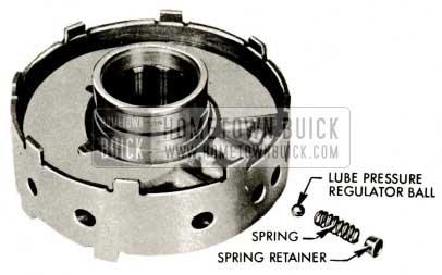 1959 Buick Triple Turbine Transmission - Pressure Regulator Ball