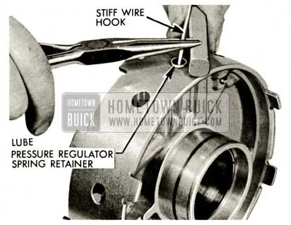 1959 Buick Triple Turbine Transmission - Pressure Regulator Spring Retainer
