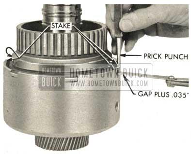 1959 Buick Triple Turbine Transmission - Prick Punch