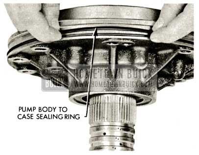 1959 Buick Triple Turbine Transmission - Pump Body to Case Sealing Ring