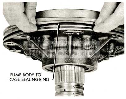 1959 Buick Triple Turbine Transmission - Pump Body
