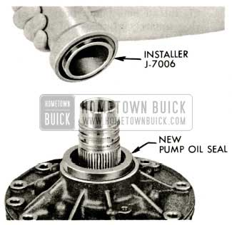 1959 Buick Triple Turbine Transmission - Pump Oil Seal