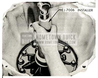 1959 Buick Triple Turbine Transmission Pump Seal Installation