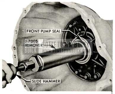 1959 Buick Triple Turbine Transmission Pump Seal