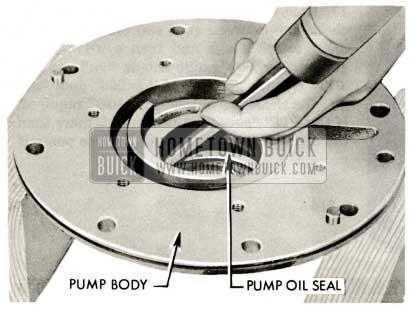 1959 Buick Triple Turbine Transmission - Pump Seal