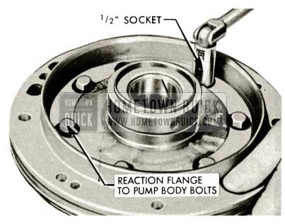 1959 Buick Triple Turbine Transmission - Reaction Flange to Pump Body Bolts
