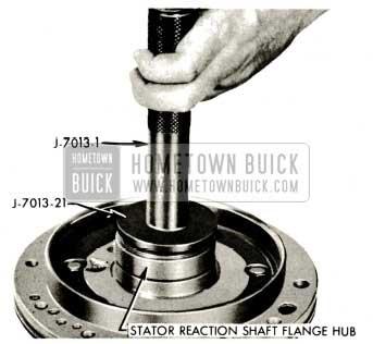 1959 Buick Triple Turbine Transmission - Reaction Shaft Rear End