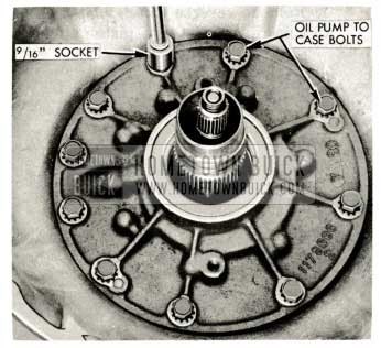 1959 Buick Triple Turbine Transmission Reaction Shaft