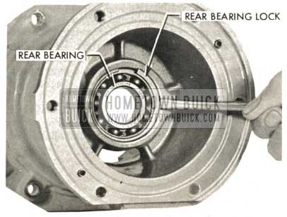 1959 Buick Triple Turbine Transmission - Rear Bearing Lock