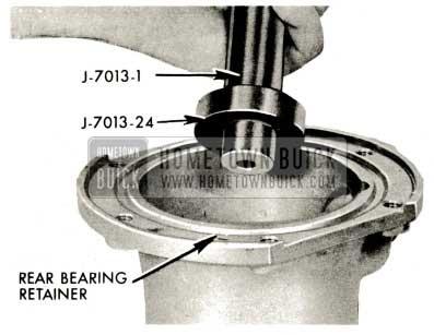 1959 Buick Triple Turbine Transmission - Rear Bearing Retainer